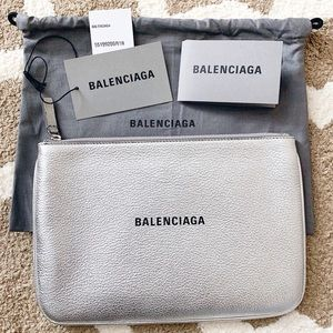 NWT Balenciaga Everyday Pouch Clutch Bag  Pouch